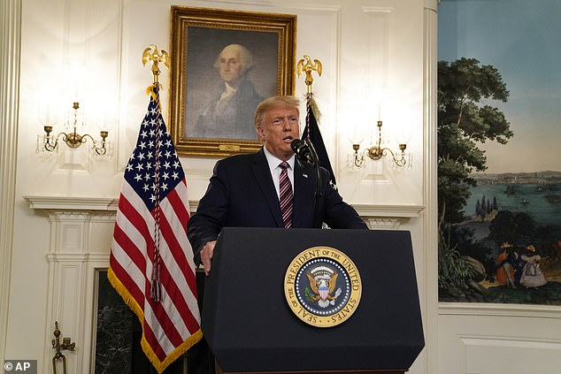 President Donald Trump admitted he downplayed the threat of the coronavirus in order not to cause panic