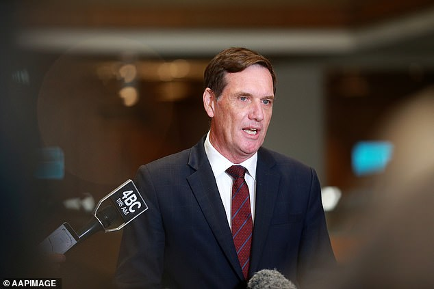 Minister for Natural Resources, Mines and Energy, Anthony Lynham (pictured) also announced he would not be contesting his seat at the October election