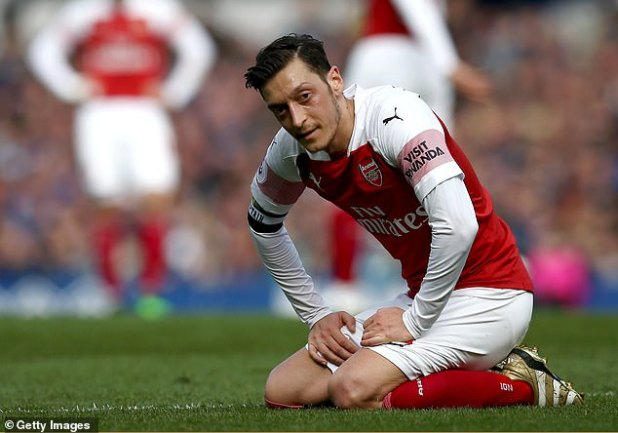 But it appears that ahead of the new season, Ozil's Arsenal career is coming to an exhausting end