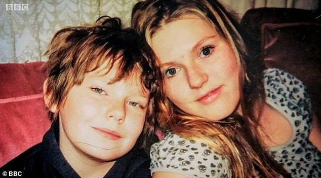 Camellia said her brother was left a 'shell' of his former self after he was interviewed by police. He hanged himself on a tree he and Camellia (pictured) used to play on as children
