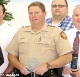Deputy Darrell Hackney was saved only by his bulletproof vest during the shooting