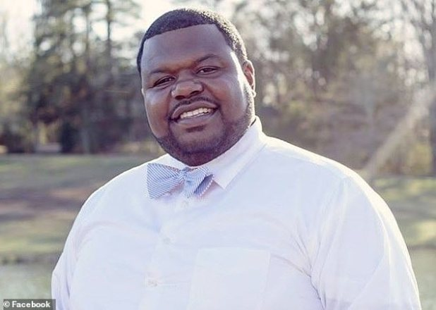 Nakoma James, 42, taught in a middle school and helped coach high school football.  He died on August 6 during the first week of classes from coronavirus complications