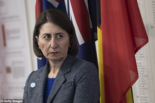 New South Wales Premier Gladys Berejiklian issued a stunning ultimatum to her deputy and Nationals MPs in a meeting that lasted just 60 seconds