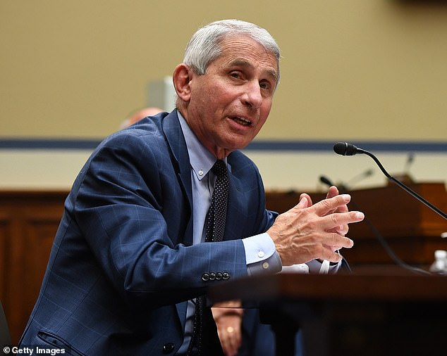Emails obtained by Politico show that HHS official Dr Paul Alexander has been trying to instruct Dr Anthony Fauci's staff about what he should say during media interviews