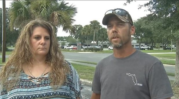 Alicia Whitehill (left) and Travis Wall (right) hope the tragedy can bring awareness to other parents about the dangers of hot freshwater and Negaleria fowlerlee.