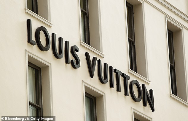 Luxury goods group LVMH has said it will counter-sue Tiffany, accusing it of mismanagement through the coronavirus crisis. Pictured above, a Louis Vuitton store in Sydney, Australia