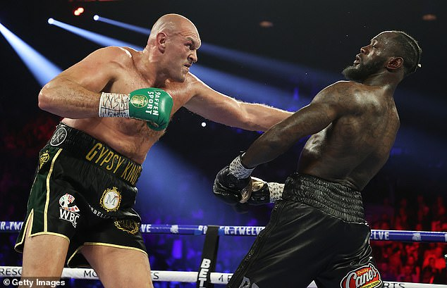 Tyson Fury stunned Deontay Wilder in February with a devastating TKO victory in Las Vegas