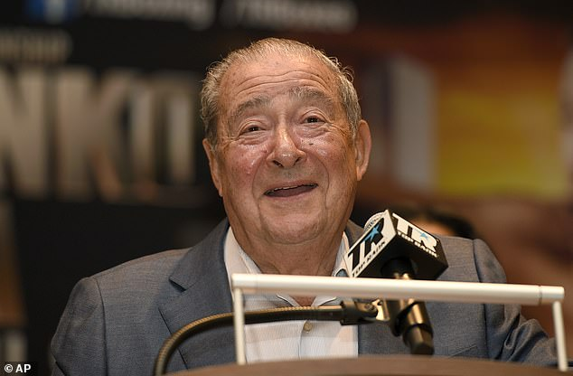 Boxing promoter Bob Arum believes the trilogy fight will take place before the year is out