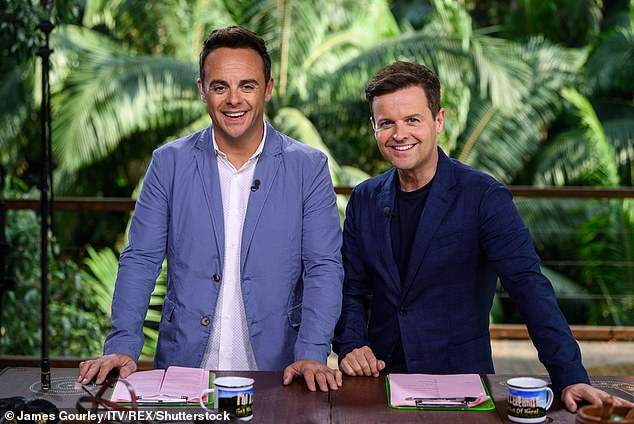 Confirmed:It was confirmed last week that the first ever UK-based series will be filmed at the 200-year-old Gwrych Castle in Abergele, North Wales (hosts Ant and Dec pictured in 2019)