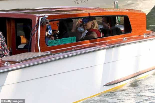 Trip Out: Kate was surprised to see the beautiful sights of Venice during a boat trip on Friday morning