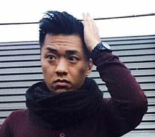 Disgraced bank manager Andi Lee, 39, (pictured) stole millions of dollars from unsuspecting customers to impress his girlfriend with luxury cars and designer watches, a court has heard