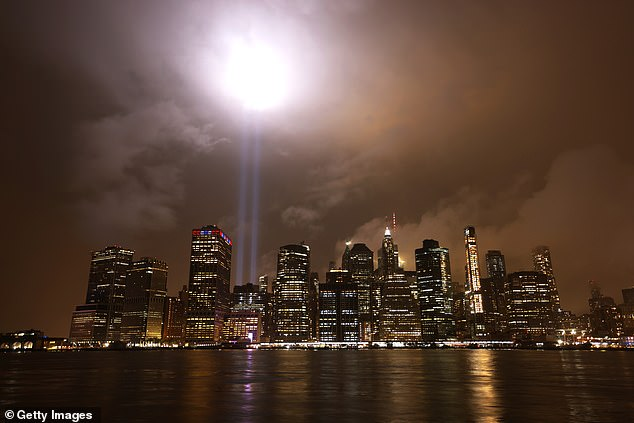 In New York, the annual 'Tribute in Light' was almost cancelled after the 9/11 Memorial and Museum said there was a virus risk to the installation crew