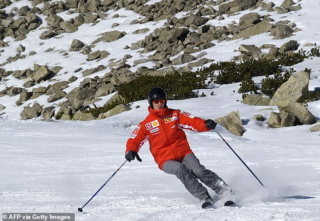 Schumacher suffered a horrific skiing accident on the French Alps in December 2013