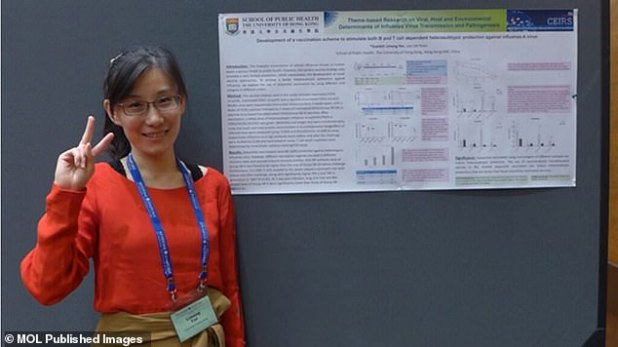 Chinese Virologist Dr.  Li-Meng Yan, pictured, is a Chinese virologist and whistleblower who believes that the Chinese government and the World Health Organization were aware of the person-to-person transmission of COVID-19, previously reported.