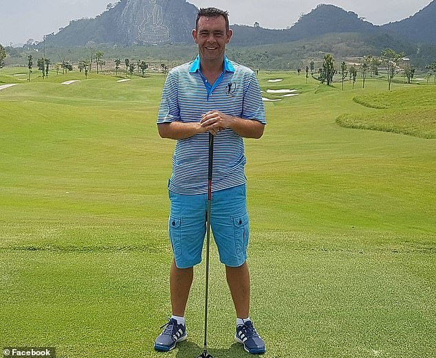 Colin Fisher (pictured), 45, was arrested as he flew from his home in Dubai to Florida to seal the deal to illegally transport the engine