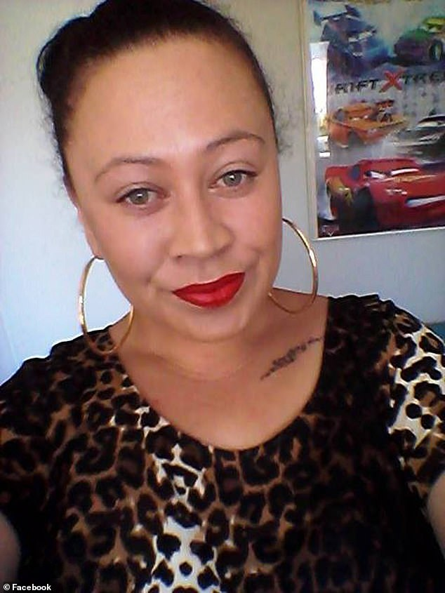 Epiha killed mother Alicia Maree Nathan, 32, (pictured) after an argument about music at a house party in Avonhead, Christchurch in August 2017