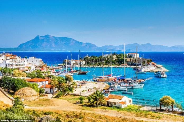Turkey has always been a welcoming country, which its decision earlier this year to waive visas for British visitors confirmed. Pictured is the stunning port town of Datca