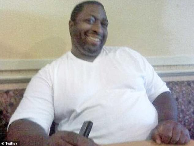 Tamika Gadsen: 'When you name a bolo tie after Eric Garner (pictured), the gruesomeness just leapt from the page. It¿s so Charleston to mischaracterize that gruesome exercise as charity'