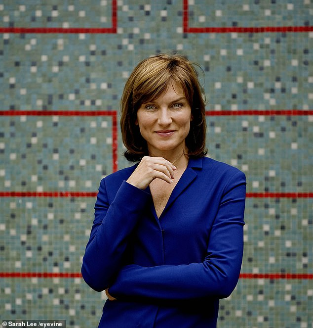 Fiona Bruce, pictured, is expected to be one of the top BBC earners when the latest figures are released next week having completed a full year behind the Question Time desk