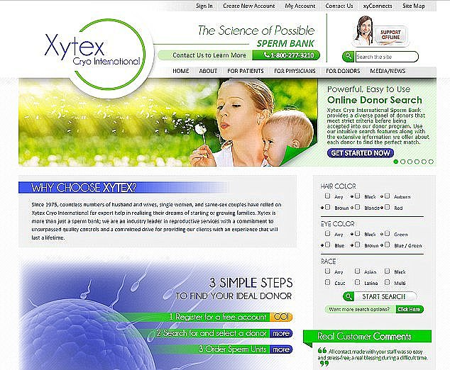 In 2014, Xytex mistakenly revealed Aggeles' name and email in a communication to some of the families who had used his sperm