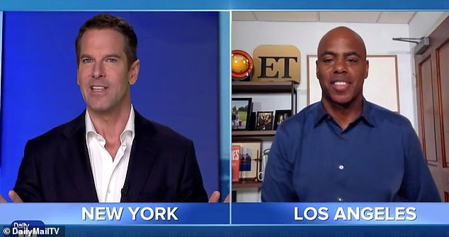New season! ET host Kevin Frazier, 56, exclusively sat down with DailyMailTV's Thomas Roberts to talk about finally getting back into the studio after months of filming from home amid the coronavirus pandemic