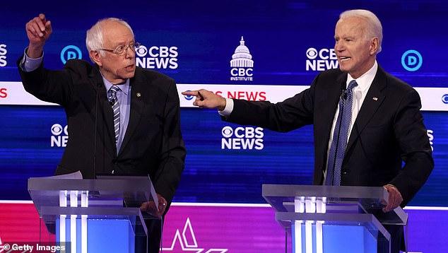 Trump pointed to Joe Biden's performance in debates