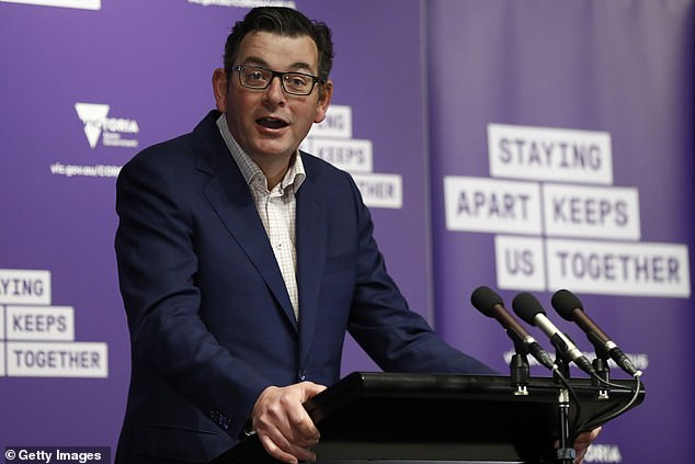 Premier Daniel Andrews has announced regional Victoria is on track to ease coronavirus restrictions in a matter of days