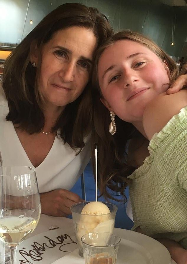 Lara, who spent lockdown with her mother at her family home in Thame, saidworking-from-home had brought her 'shoulder-knot inducing anxieties'