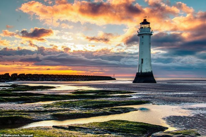 For history, head to New Brighton where you'll find Fort Perch Rock and the splendid Perch Rock lighthouse