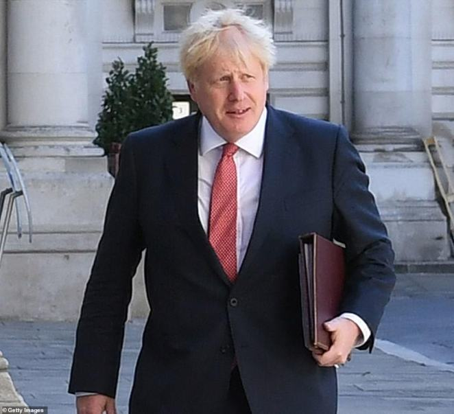 Boris Johnson is drawing up tough new plans to crack down on people who flout quarantine restrictions after an official study claimed that 20 per cent of Covid patients routinely ignore self-isolation rules