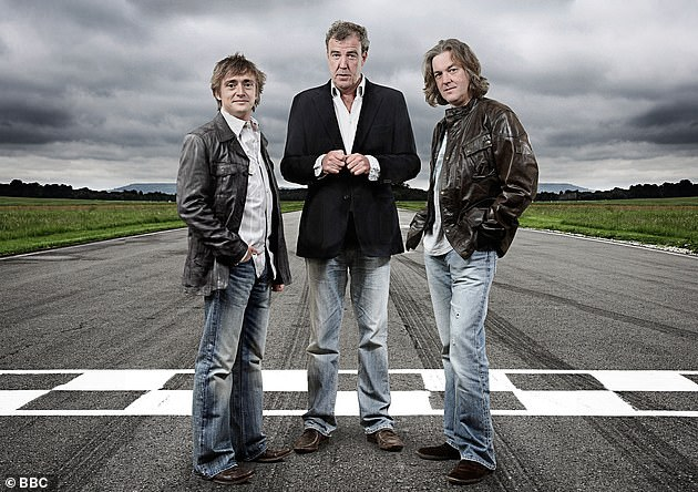 Original trio:The show came under fire after the shock departure of Jeremy Clarkson, James May and Richard Hammond in 2015