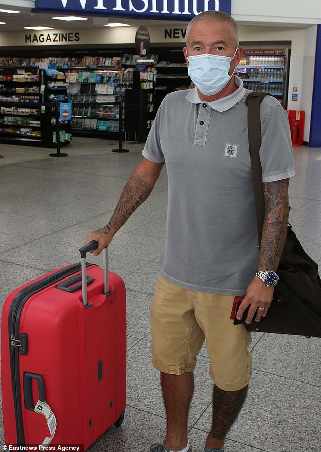 Simon Garner, 48, from Ipswich said he felt safer in Portugal, but was forced to cut his holiday short and fly back to Stansted before quarantine measures started at 4am