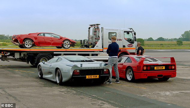 Not ideal!In the 60-second adrenaline-pumping video, it features Paddy's, 47, dramatic car crash where he lost control of a £250k 1990 Lamborghini Diablo in June