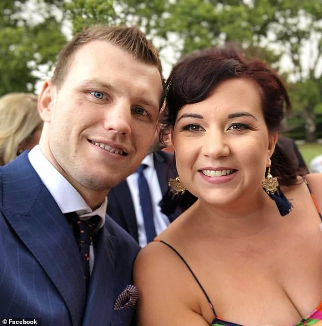 The Hornet's wife Jo (pictured together) has been bugging her husband regularly to retire