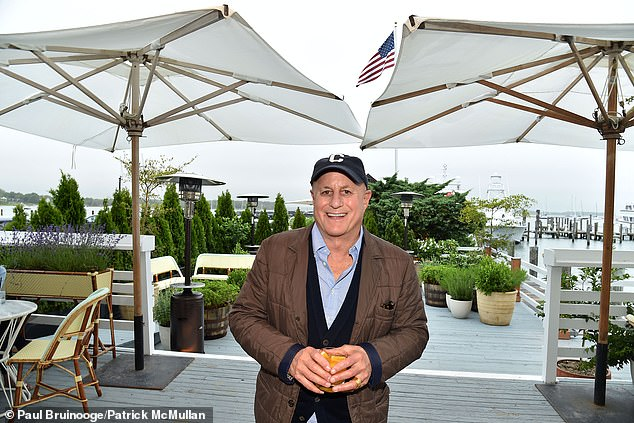 Sources told NY Post that Perelman's (pictured) East Hampton estate may be available to some as a 'whisper' listing