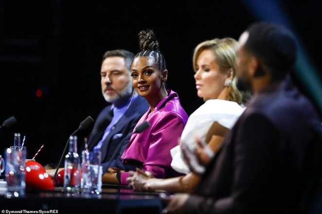 Awks!The OfCom complaints come after reports judges David Walliams and Alesha Dixon had a war of words after the singer told him his Little Britain antics were 'inappropriate'