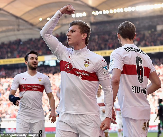 Werner made his Stuttgart debut at 17, while still at school, and refused to sign autographs