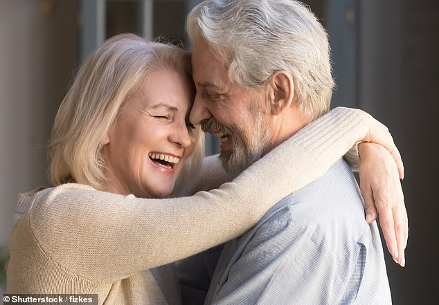From the age of 48.3, life begins to turn a corner and we are practically full of the joys of spring by the time we reach our 70s. (File image)