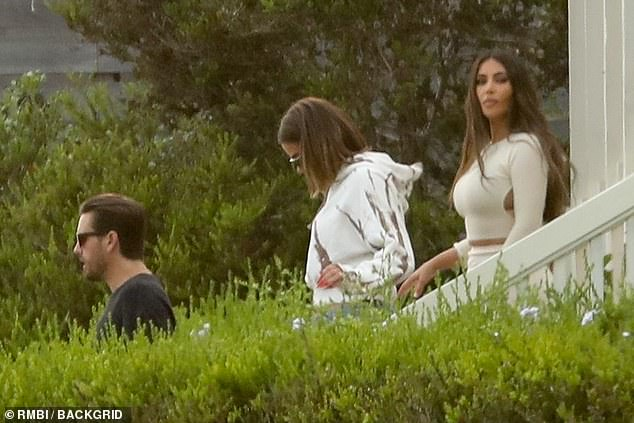 An insider told The Sun: 'Khloé (M) has tried to launch several spin-off shows - but none of them have been as successful as KUWTK. And who knows how Scott (L) will make money now that the show is being canceled'