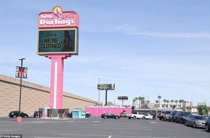 Even Vegas's ubiquitous strip joints are no more. Little Darlings tried to stay open, offering 'coronavirus-free' dancers and nude, hand-sanitised wrestling. It is now shuttered with a sign saying: 'Sorry, we're clothed'