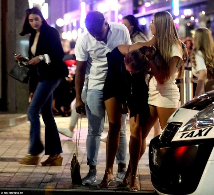 LEEDS: Revellers hit the bars in Leeds tonight before tougher new 'rule of six' comes into force from Monday
