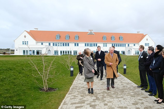 The Prince of Wales is given a tour as he attends a reception to celebrate the 30th anniversary of Surfers Against Sewage and officially opens the Nansledan development school in March