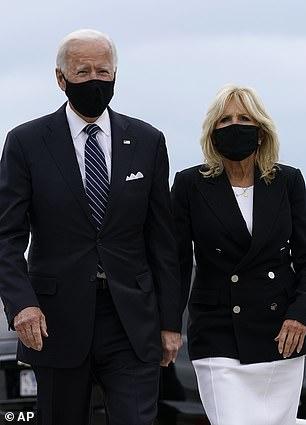 Former Vice President Joe Biden and Dr. Jill Biden