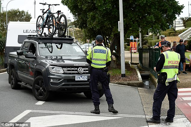 The couple had left their home in Sale, in the Gippsland region, and made the two hour journey to Dandenong in Melbourne's south-east on Saturday