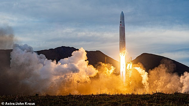 Astra Space Inc made its first attempt to launch a rocket into orbit on Friday in Kodiak, Alaska