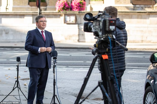 Justice Secretary Robert Buckland warned that young people are 'forgetting the rules' ahead of the new limits on gatherings coming into force tomorrow