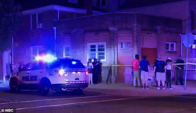 Eight people were shot during the incident, resulting in the deaths of two men and the hospitalizations of six others