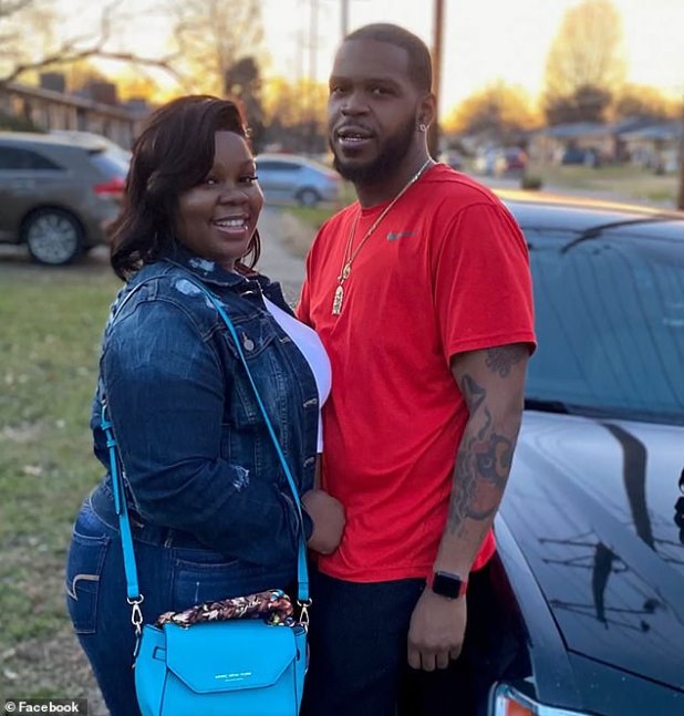 Warrant: Bryona and her boyfriend, Kenneth Walker, were sleeping in bed when officers served the warrant at around 1 p.m.