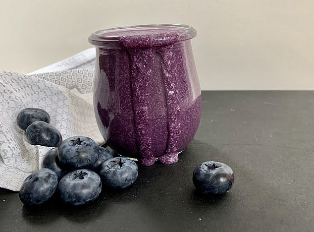 Blueberry and Coconut Shake