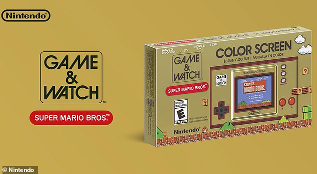 The 40th anniversary edition of the Game & Watch will go on sale November 13 and cost $49